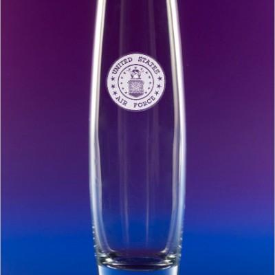 AF Emblem Bud Vase